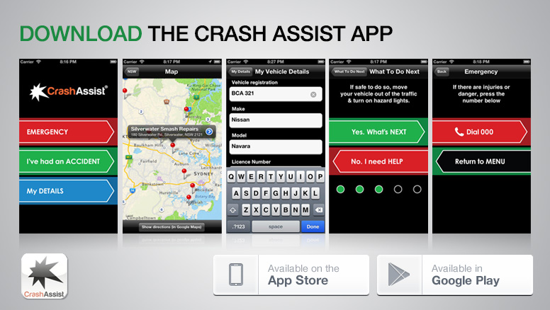 Crash Assist App