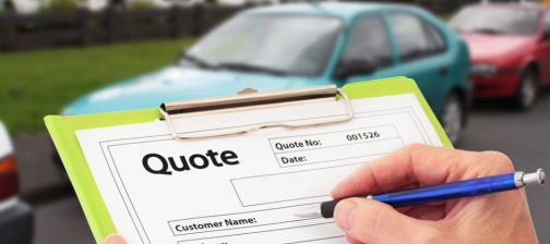 car repair quotation