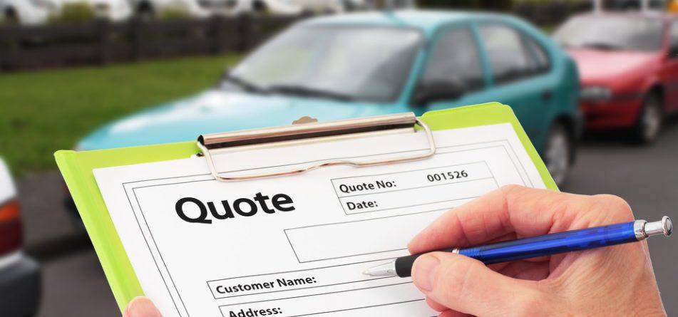 car repair quotation